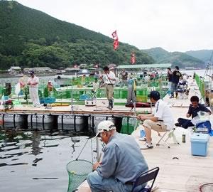 海上釣り堀 貞丸